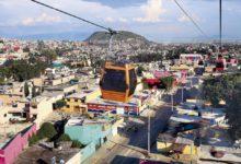 Fotografía del Mexicable de Ecatepec